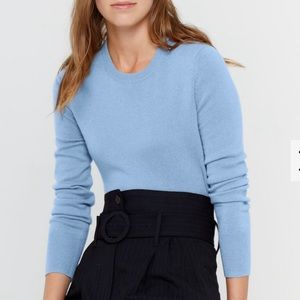 J.Crew cashmere sweater.